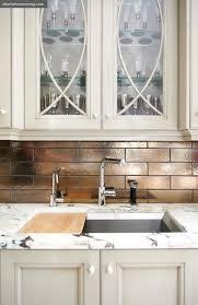 green metallic kitchen tiles design ideas