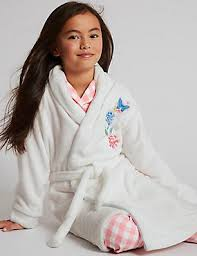girls dressing gown girls short dressing gown m u0026s