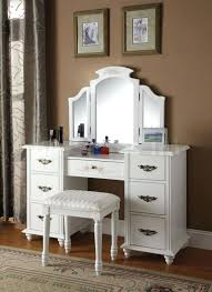 Ikea Vanity White Vanities Dressing Table With Lighted Mirror Furniture Modern