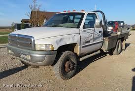 dodge ram 3500 flatbed 1999 dodge ram 3500 flatbed truck item df9791 sol
