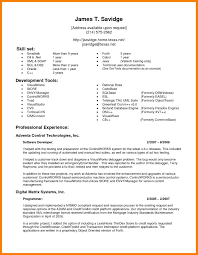 Testing Resume For 1 Year Experience Testing 3 Years Experience Resume