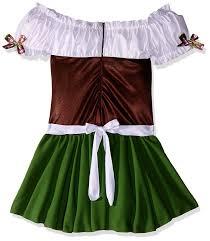 amazon com leg avenue women u0027s two piece gretchen costume clothing