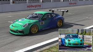 porsche falken nurburgring 24 falken tires replica by daniel avery trading paints
