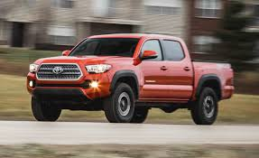 toyota tacoma manual transmission review 2016 toyota tacoma v 6 4x4 manual test review car and driver