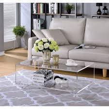 Clear Coffee Table Square Clear Acrylic Coffee Table Best Gallery Of Tables Furniture