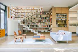 Living Room Design Library Living Rooms For Book Lovers
