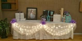 wedding gift table decorations lading for