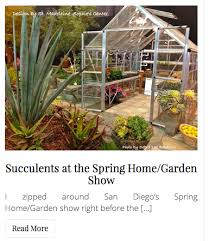 San Diego Home And Garden Show by Debra U0027s Spring U002716 Succulent Videos Design Ideas And More