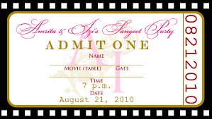8 best images of free printable ticket invitations templates movie