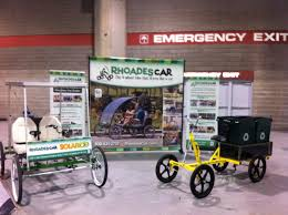 rhoades car dealer quadricycle 4 wheel bike pedal car quadracycle total initial investment 22 500 including crating and shipping of initial 4 models 13 month financing is available for credit qualified candidates