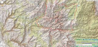 Wyoming Topo Map Cloud Peak Wilderness Topo Maps