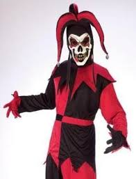 best clown mask save on kids evil court jester scary clown