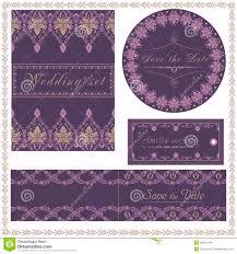 Elegant Invitation Cards Wedding Invitation Cards And Tag Wedding Set Elegant Lace Design
