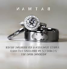batman wedding ring set wedding batman wedding rings for him and ring sets elevated