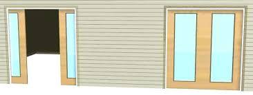 Exterior Pocket Door Sliding Pocket Door Pocket Doors With Glass Interior Exterior