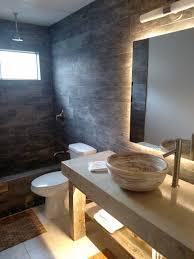 bathroom led lights behind bathroom mirror fashionable photo