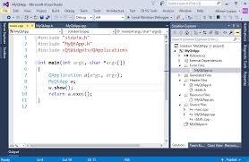 qt programming visual studio bring your existing qt projects to visual studio visual c team blog