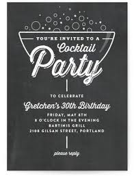 online invitations a bubbly cocktail party online invitations