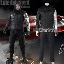 Marvel Halloween Costumes Adults Aliexpress Buy Bucky Barnes Costume Captain America Civil