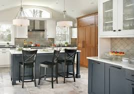 wood kitchen cabinets houston white and navy blue wood mode kitchen contemporary
