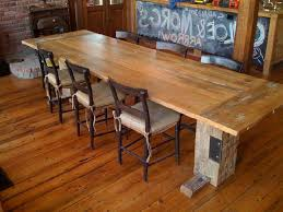 Reclaimed Dining Room Tables Reclaimed Wood Dining Room Table Marceladick