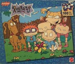image rugrats the gang 100 piece puzzle png rugrats wiki