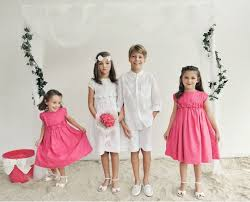 how to choose flower dresses for relaxed happy children