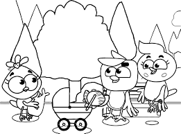 caillou family coloring pages contegri com