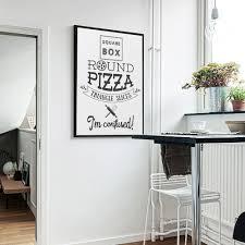 English Home Decoration Online Shop English Phrase Pizza Poster Marijuana Canvas Photo Art