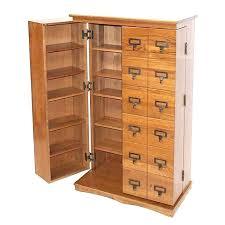 Oak Dvd Storage Cabinet Wood Cd Storage Cabinet Cabinet With Doors Wall Storage Storage