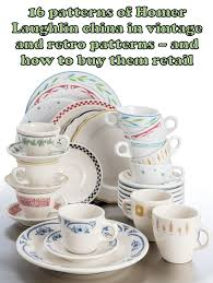 vintage china patterns 16 patterns of new homer laughlin vintage and retro pattern china
