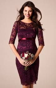 amelia maternity dress short claret maternity wedding dresses