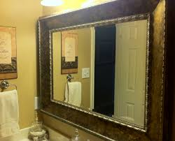 pretentious furniture bathroom diy bathroom mirror frame then