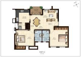 100 solitaire floor plans 2 bhk flats in baner 3 bhk