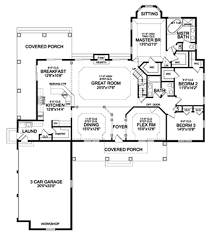 Standard Pacific Homes Floor Plans by Craftsman Style House Plan 3 Beds 3 00 Baths 2498 Sq Ft Plan 456 33