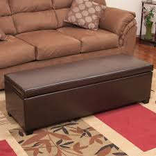 shop best selling home decor lucinda casual brown faux leather