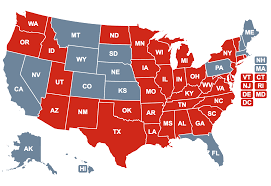 Colleges In Virginia Map by Cpr Aed Laws Sudden Cardiac Arrest Foundation