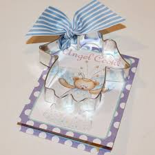 christening party favors cookie cutter angel cookie cutter cookie cutter with recipe card