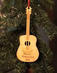wooden guitar ornament