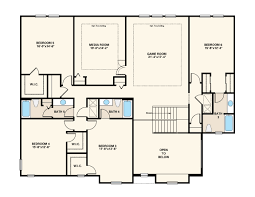 bishop floor plan at hamlin the cove in winter garden fl