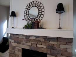 fireplace gorgeous design idea unit white cover brick style