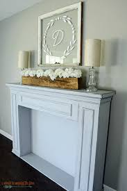 mantle decor i should be mopping the floor simple summer mantel decor simple