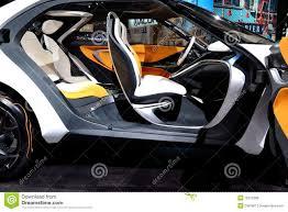hyundai supercar concept hyundai concept car interior editorial stock photo image 18315268