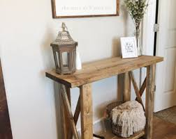 entry way table entryway furniture etsy