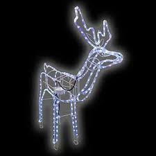 Animated Christmas Deer Decorations by Work Christmas Lights Collection On Ebay