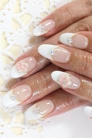 wedding nail designs french manicure bridal nail art 2065126