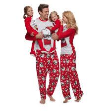 peanuts snoopy woodstock sledding pajamas matching family