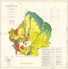 Map Of Northeast Map For The Reconnaissance Soil Survey Of Northeast British Guiana