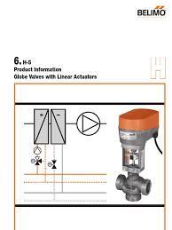 belimo nvf24 valve actuator