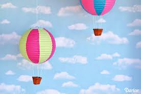 How To Make Paper Air Balloon Lantern - paper lantern diy air balloons tutorial